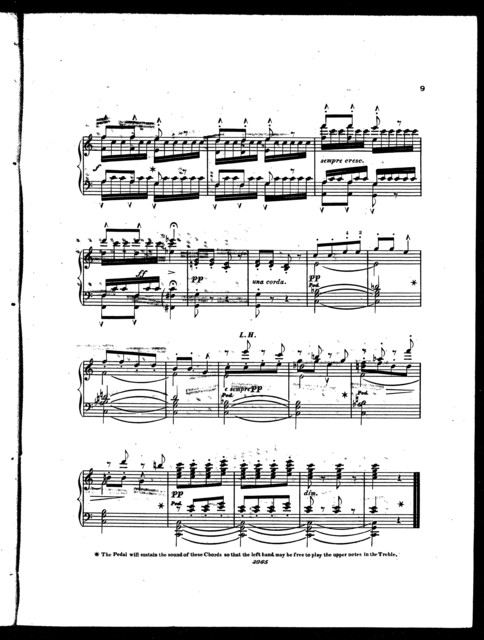 The  surprise, andante from Haydn's symphony no. 3