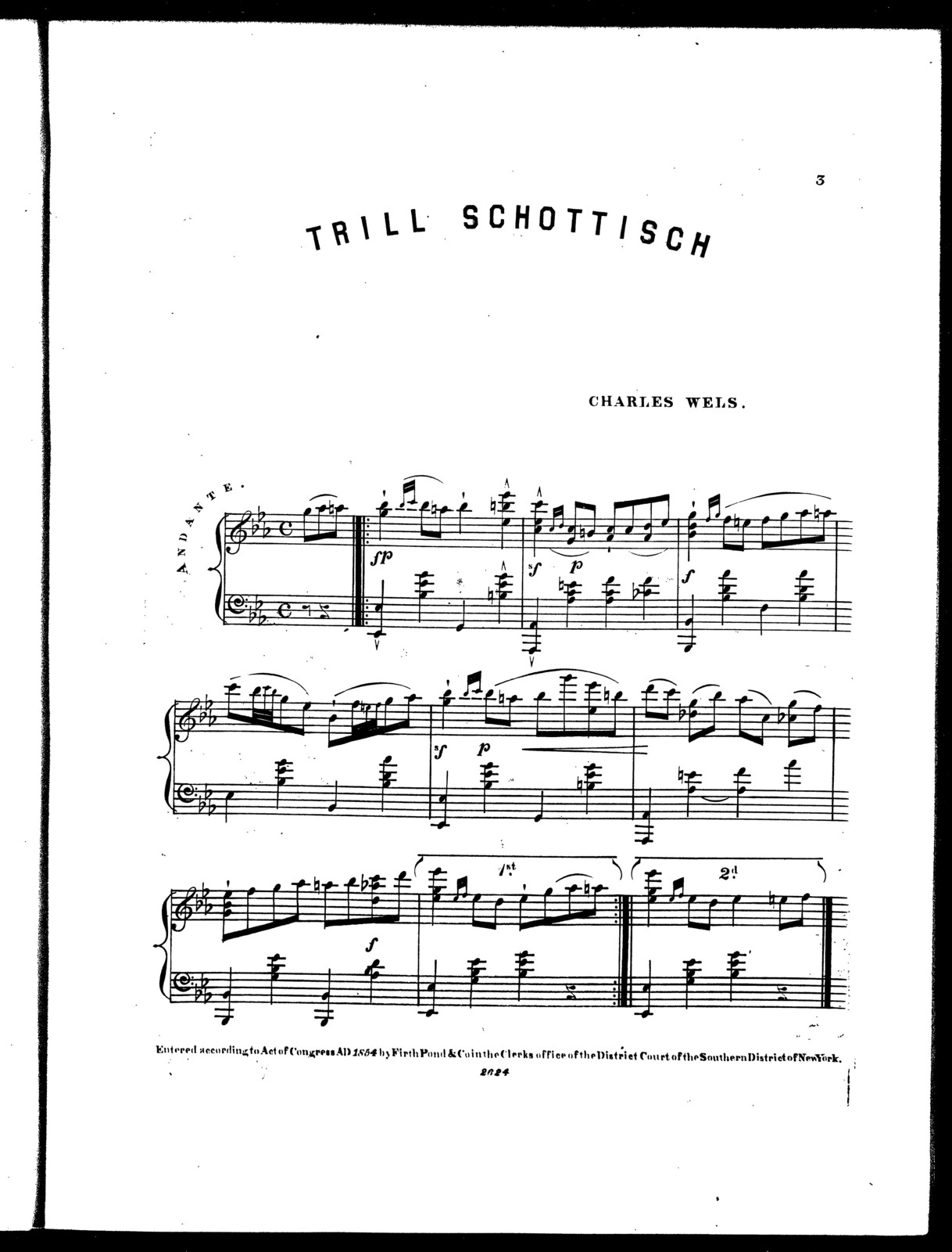 The trill schottisch - PICRYL Public Domain Image