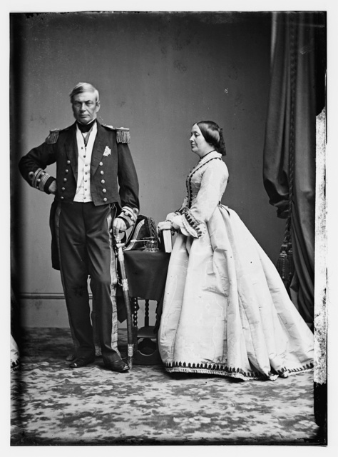 Adm. Milne and Wife