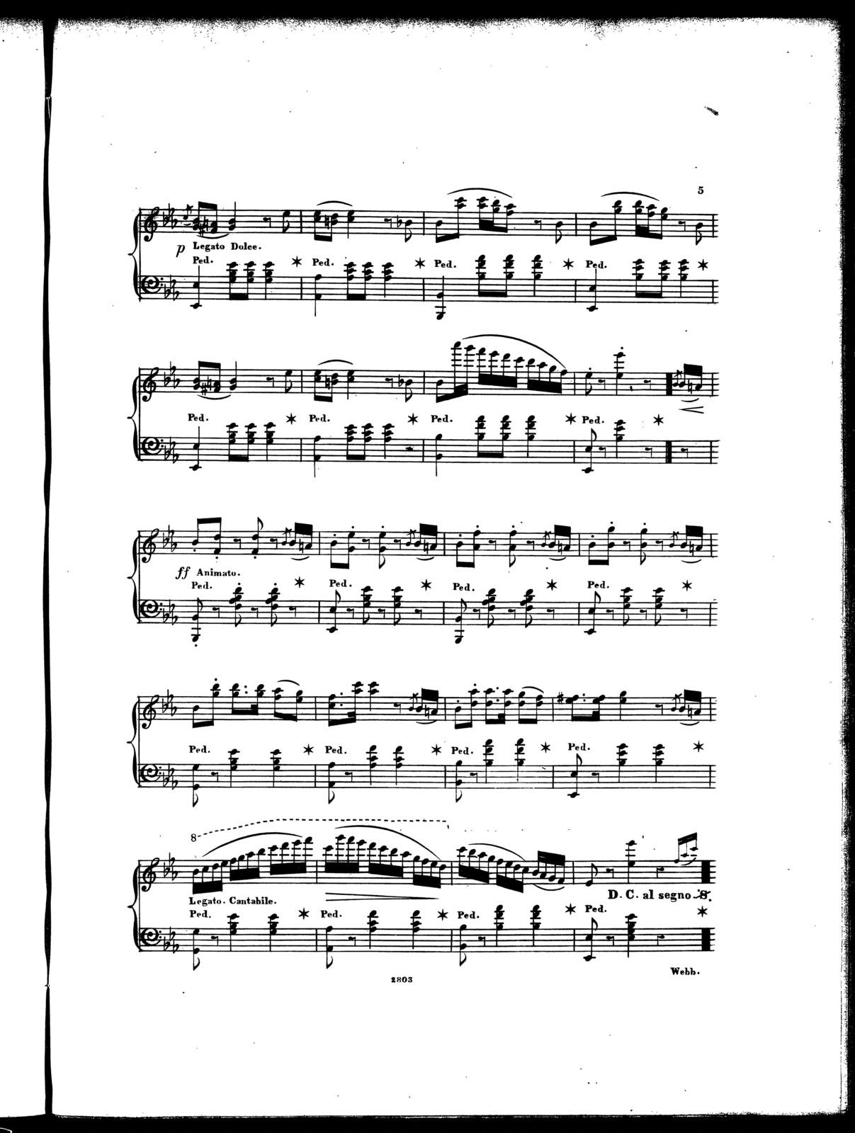 Bridal mazurka, op. 21