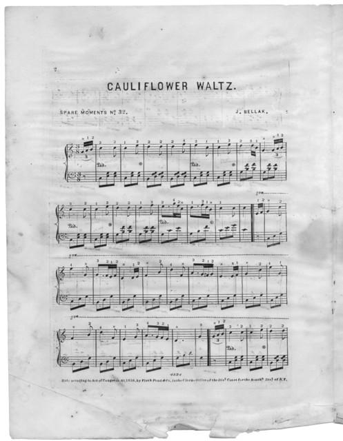 Cauliflower waltz