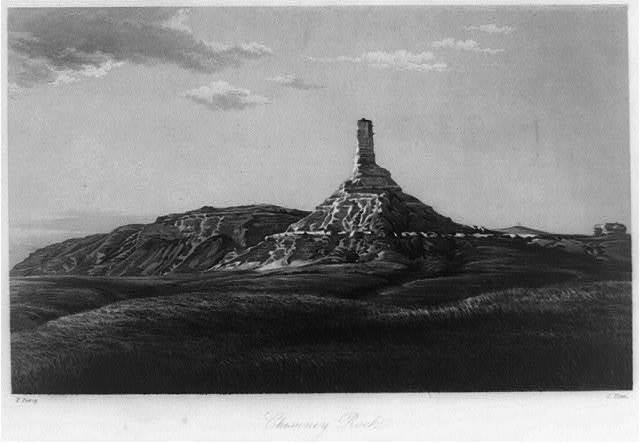 Chimney Rock, Utah / F. Piercy ; C. Fenn.