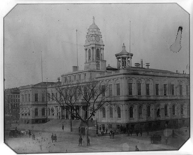 [City hall, New York]