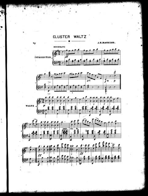 Cluster waltz