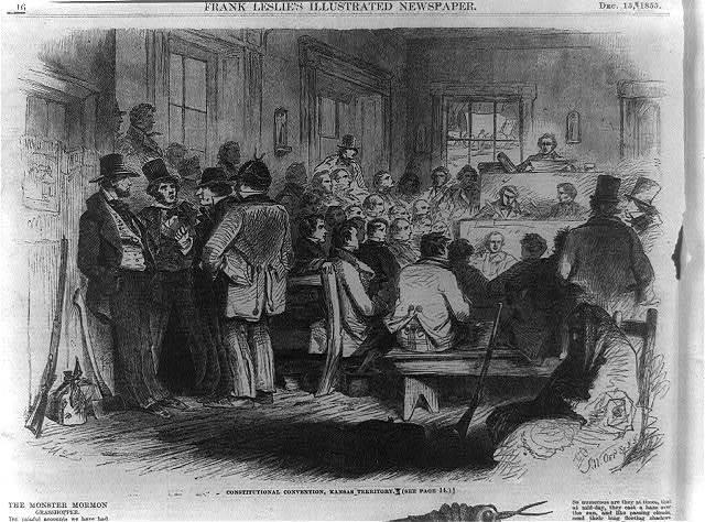 Constitutional Convention, Topeka, Kansas Territory [Topeka]