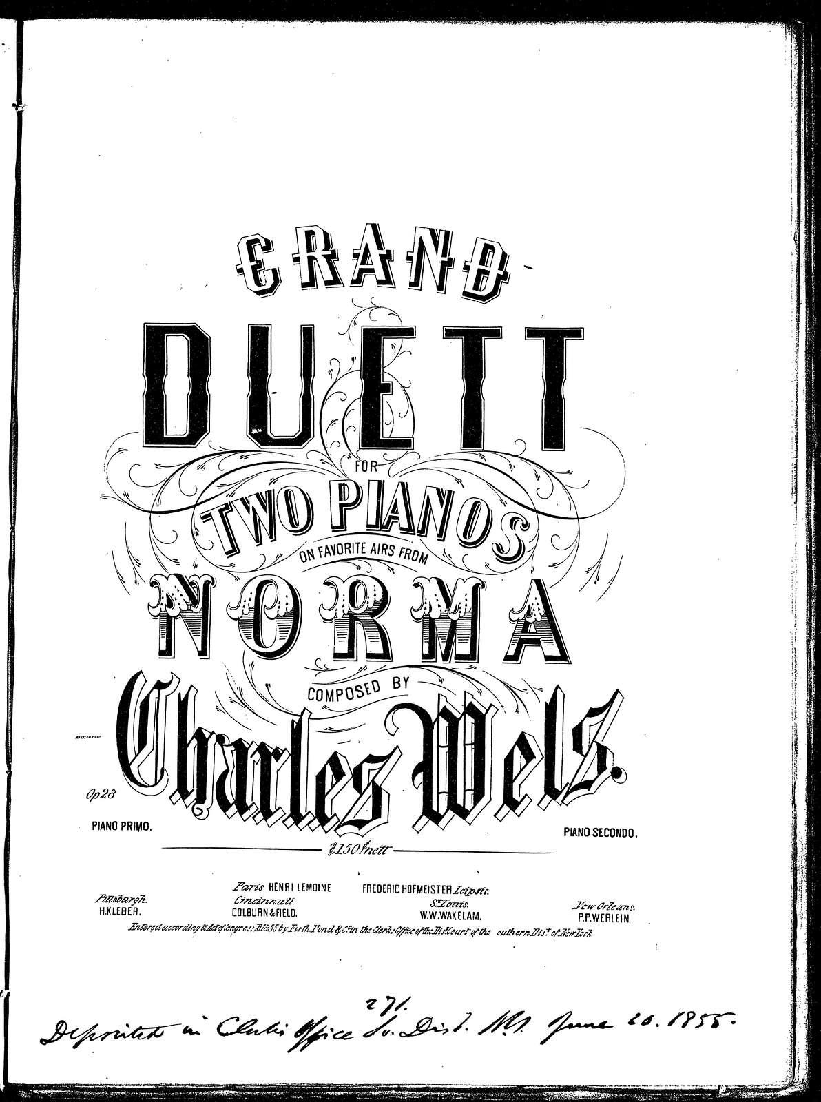 Duo de Norma, op. 28