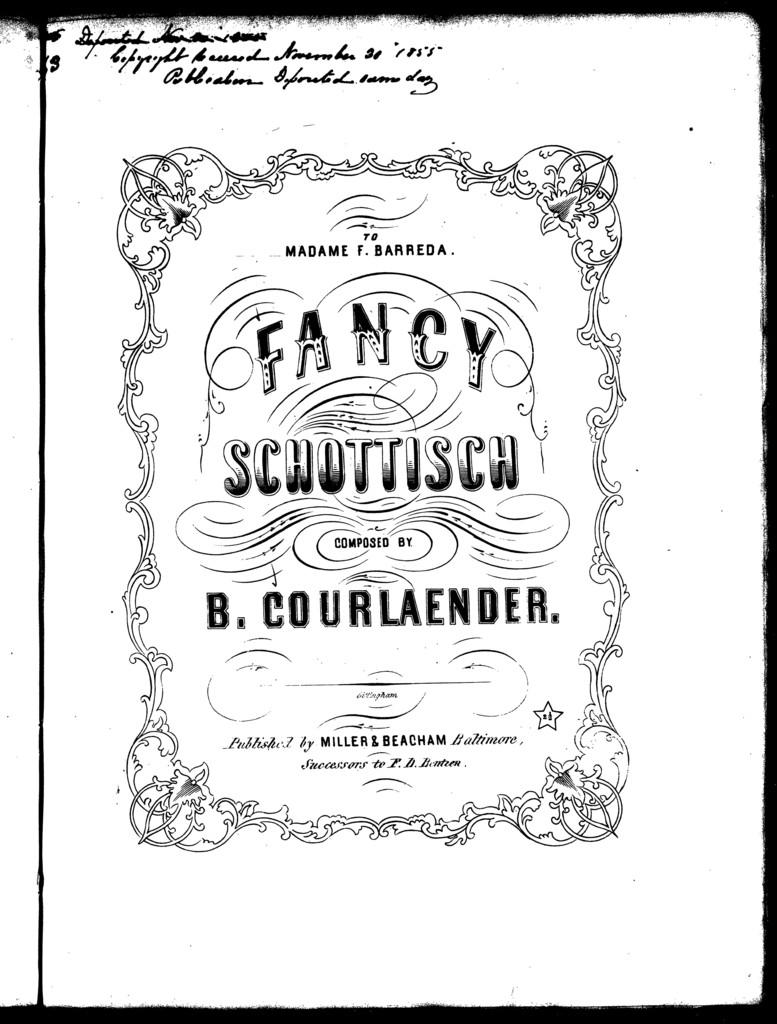Fancy schottisch