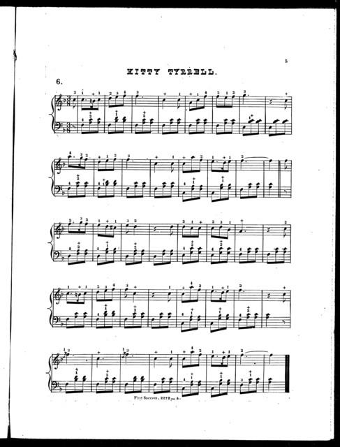 First success, op. 382: Sontag polka -- Few days -- Shells of ocean -- Fanny Gray -- Pleasure-train polka -- Kitty Tyrrell