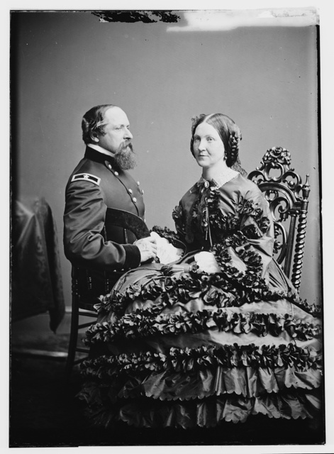 Gen. and Mrs. J. B. Ricketts