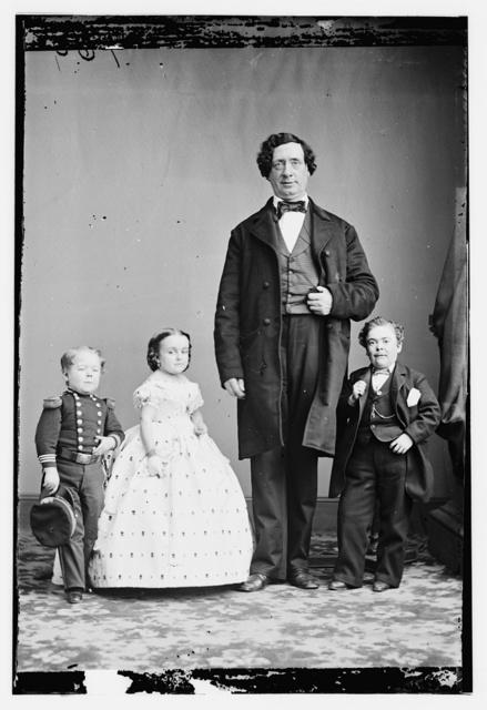 Gen. Tom Thumb, Miss Lavinia Warren, The Giant