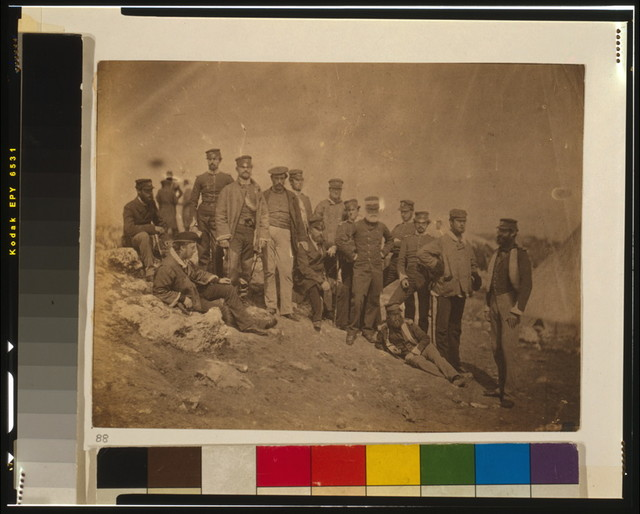 Group of officers of the 17th Regiment