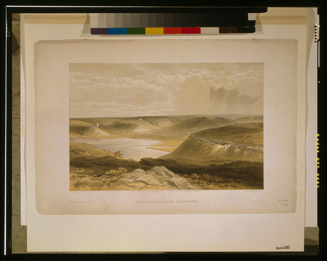 Head of the harbour, Sebastopol / W. Simpson, del. ; T. Picken, lith. ; Day & Son, Lithrs. to the Queen.