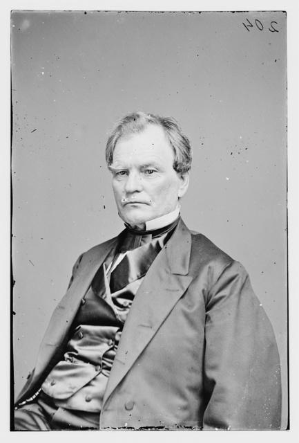 Hon. Ben. F. Wade of Ohio