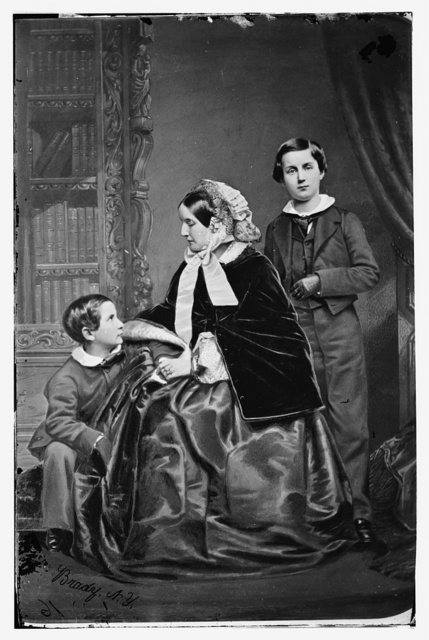 Lady Napier and her sons