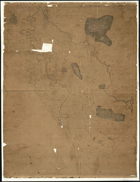 [Land ownership map of the town of Fryeburg, Maine].