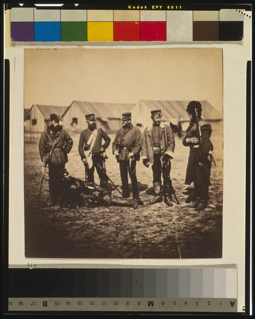 Lieutenant Colonel Munro & officers of the 39th Regiment