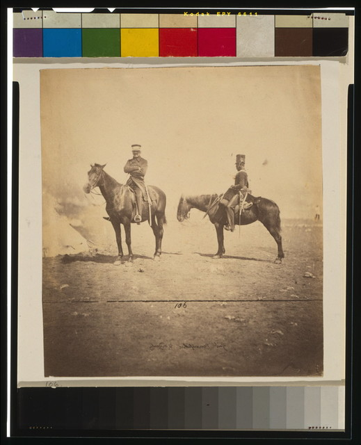 Lieutenant General Pennefather & orderly