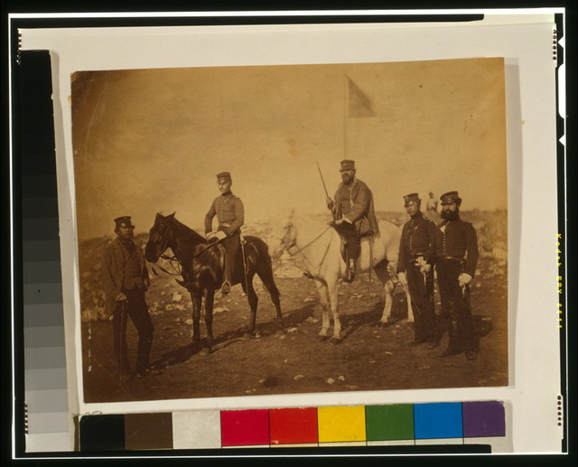 Major Tinley, & officers of the 39th regiment