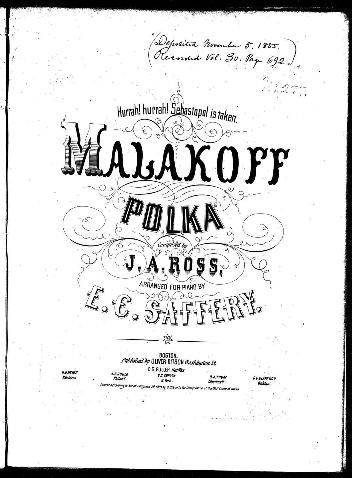 Malakoff polka | PICRYL