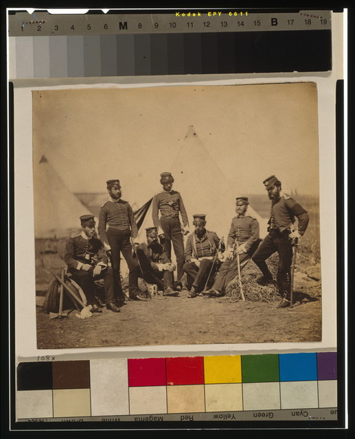 Officers of the 90th Regiment