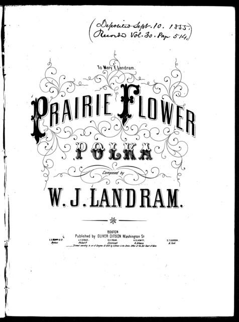 Prairie-flower polka