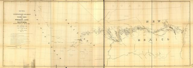 Reconnaissance and survey of a railway route from Mississippi River, near 35th parallel north lat., Pacific Ocean.