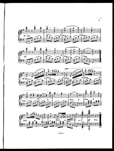 Saxony, with variations, op. 578