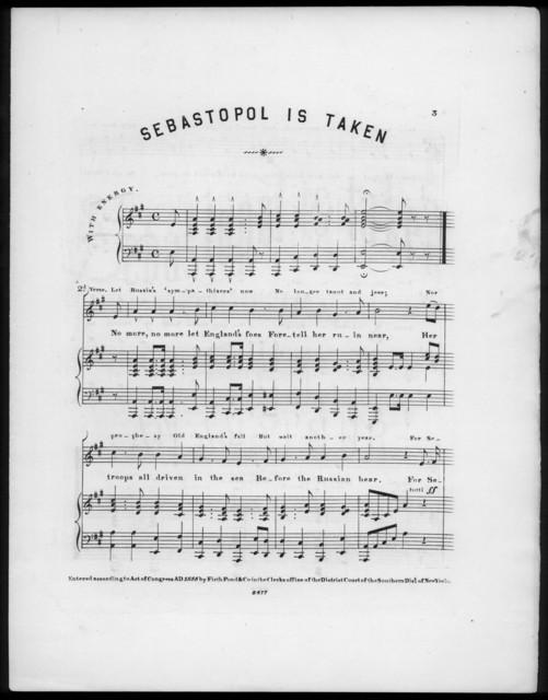 Sebastopol is taken