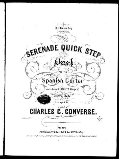 Serenade quick step