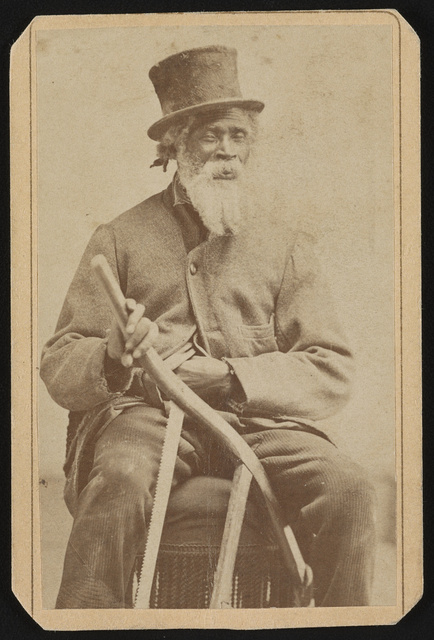 Slave of Richard Townsend / W.H. Ingram's Photograph and Ferrotype Gallery, No. 11 West Gay Street, West Chester, PA.