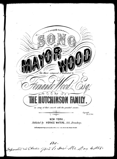 Song for Mayor Wood