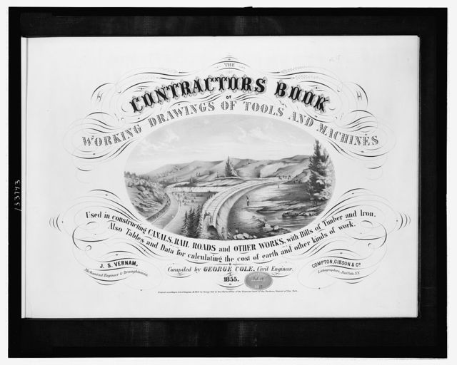 The contractors book ... / H. Gerlach ; J.S. Vernam, mechanical engineer & draughtsman.