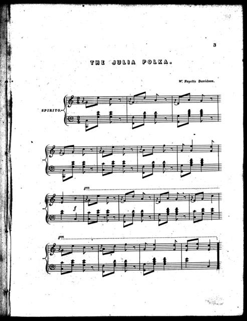 The  Julia polka