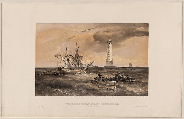 The light-house at Cape Chersonese - looking south / W. Simpson del. ; T.G. Dutton lith.