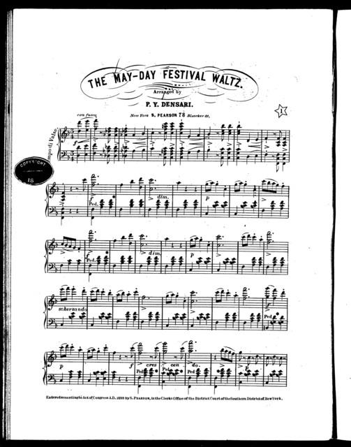 The  May-day festival waltz