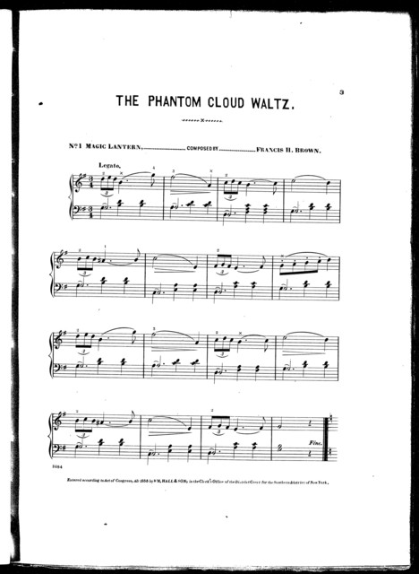 The  phantom cloud waltz