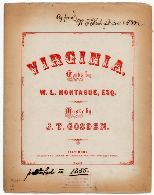 The  Virginian's song of home