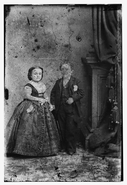 Tom Thumb and Wife