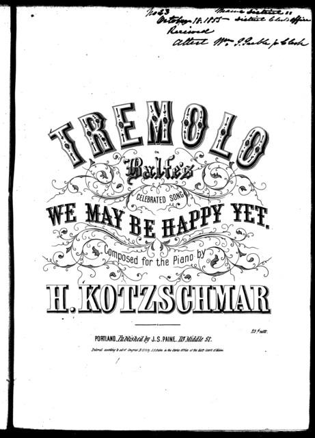 Tremolo, we may be happy yet