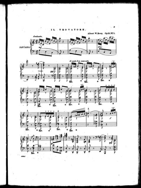 Troubadours serenade [and] Anvil chorus