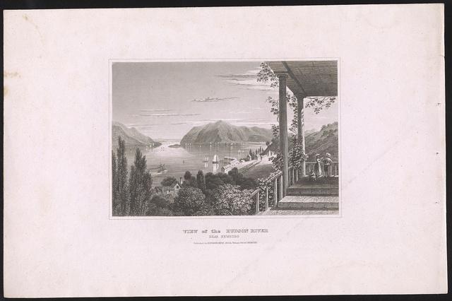 View of the Hudson River near Newburg [sic]