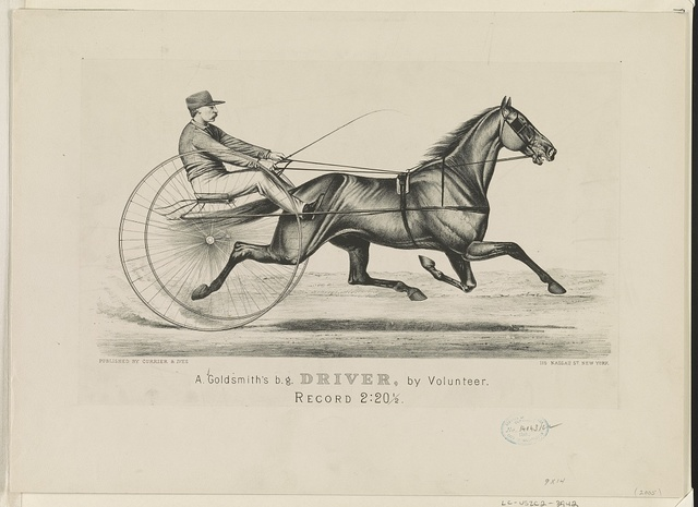 A. Goldsmith's B. G. Driver, by Volunteer: Record 2:201/2