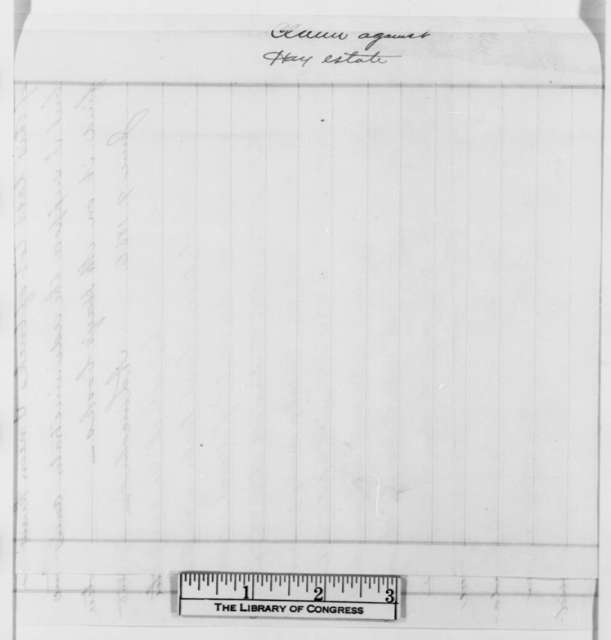 Abraham Lincoln, Monday, June 09, 1856  (Explanation of loan to Nathaniel Hay)