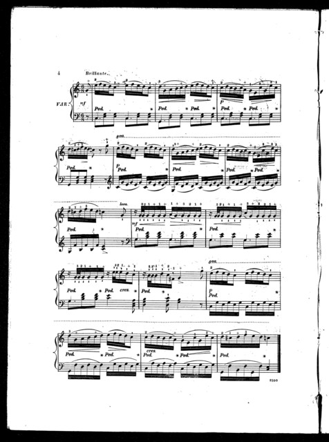 Araby's daughter, with variation and finale, op. 599