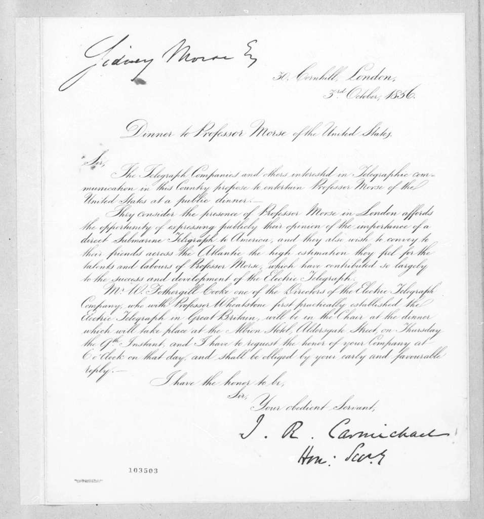Bound volume---30 January-5 October 1856