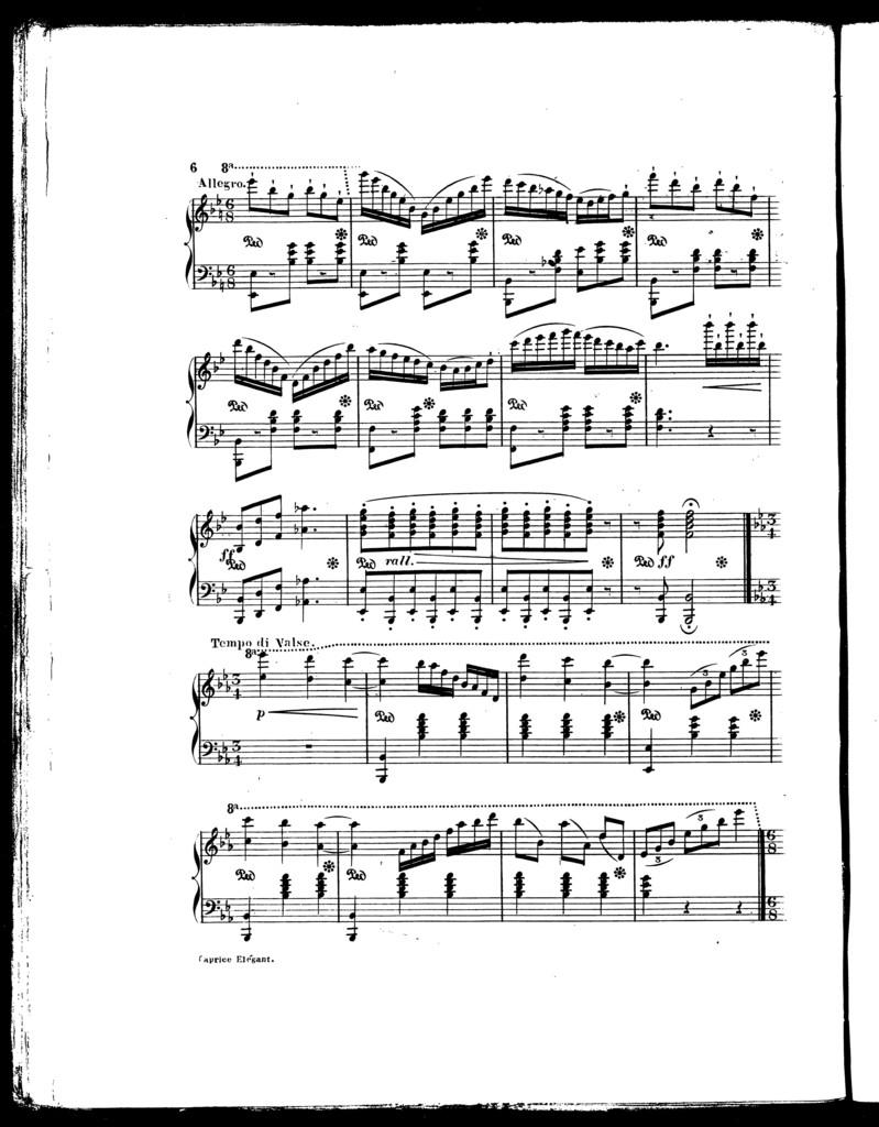 Caprice elǧant, op. 3
