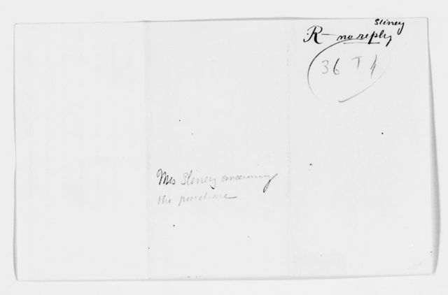 Clara Barton Papers: Miscellany, 1856-1957; Financial and legal papers; Real estate; Correspondence, 1856-1911, undated