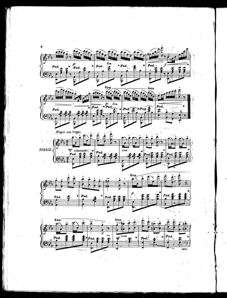 Com' ̌bello, with brilliant variations, op. 638