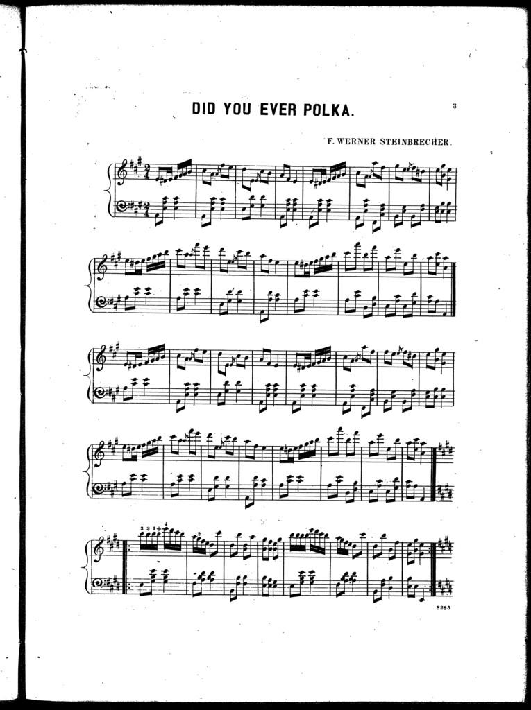 Did you ever polka