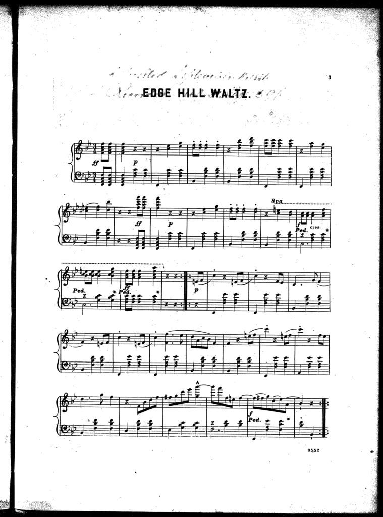 Edge Hill waltz
